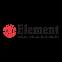 Element wind-water-fire-earth logo