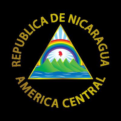 Escudo de Nicaragua logo vector logo