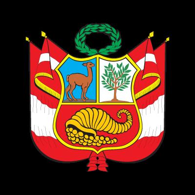 Escudo del Peru logo vector logo