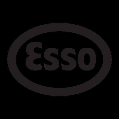 Esso logo vector logo