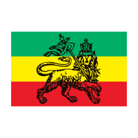 Ethiopia, reggae, rasta, bob marley logo