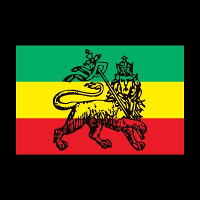 Ethiopia, reggae, rasta, bob marley logo vector logo