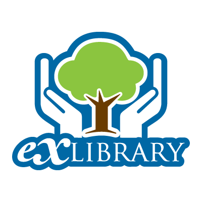 Exlibrary logo vector logo