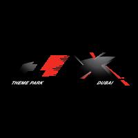 F1-X Theme Park logo