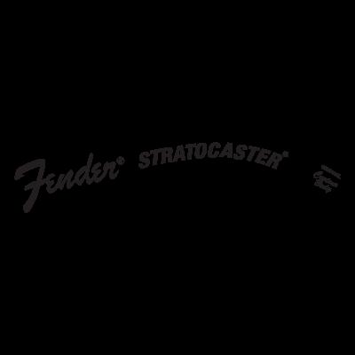 Fender Stratocaster logo vector logo