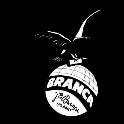 Fernet black and white logo vector logo