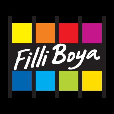Filli Boya paint logo vector logo