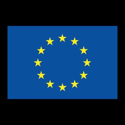 Flag of EU vector logo