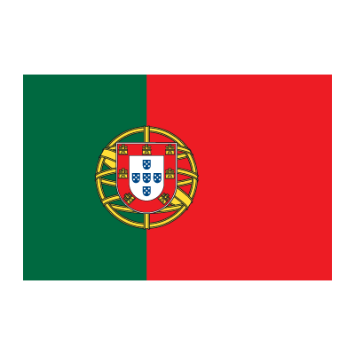 Flag of Portugal vector logo