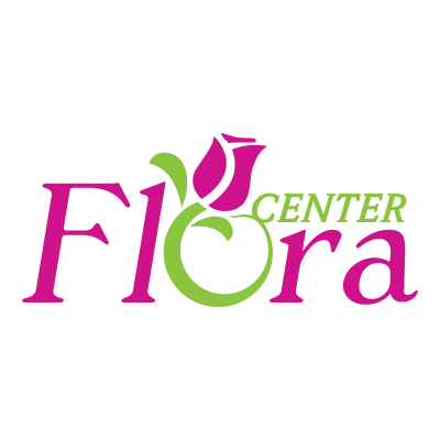 Flora center logo vector logo