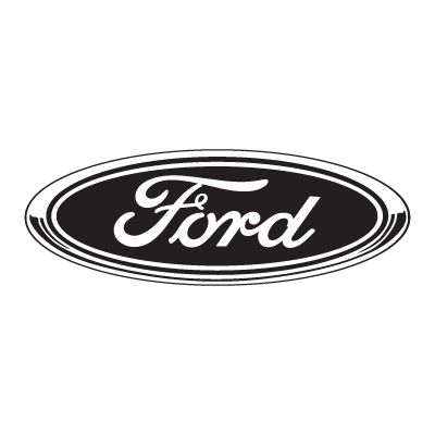 Ford Black logo vector logo