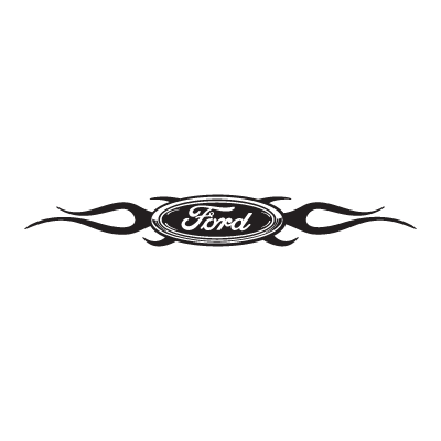 Ford Chisled With Flames logo vector logo