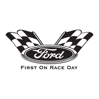Ford First On Race Day logo vector logo