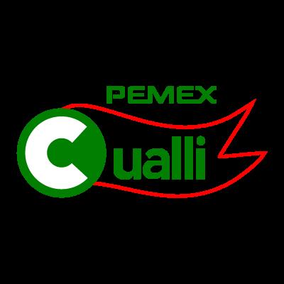 Pemex cualli logo vector logo