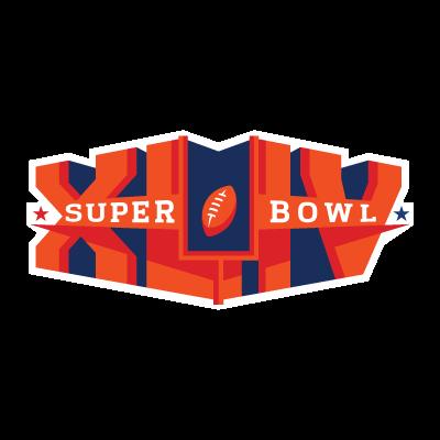 Super Bowl XLIV logo vector logo