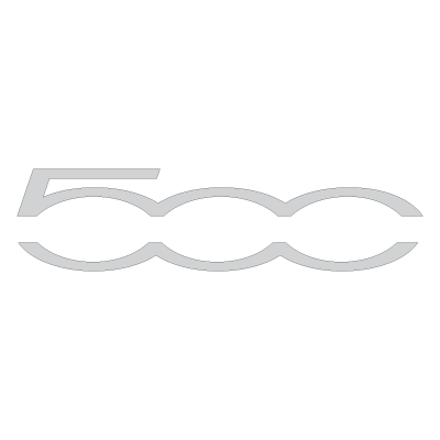 Fiat 500 2007 logo vector logo