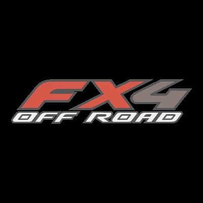 FX4 Off Road logo vector logo