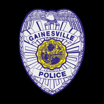Gainesville Florida Police logo vector logo
