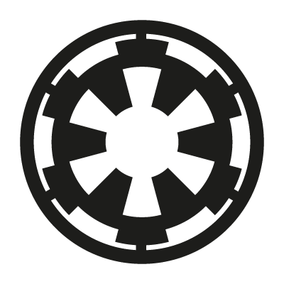 Galactic Empire logo vector logo