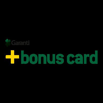 Garanti Bonus Card logo vector logo