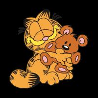 Garfield & Pooky vector