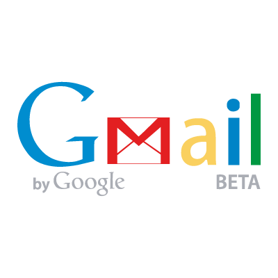 GMail by Google logo vector logo