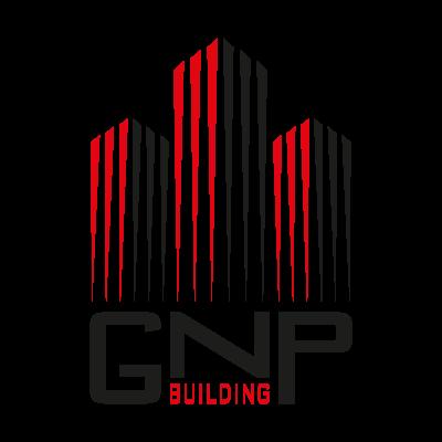 GNP building logo vector logo
