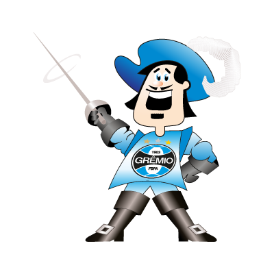 GREMIO Mosqueteiro logo vector logo
