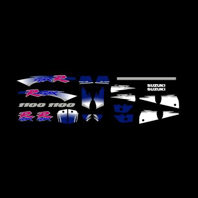 GSXR 1100 logo vector logo