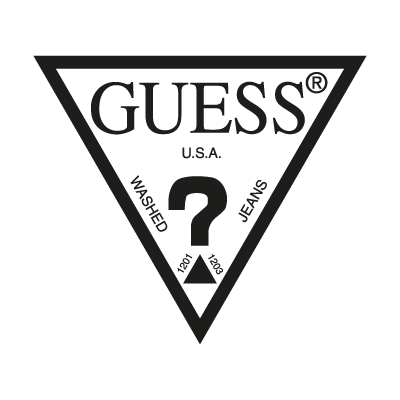 Guess Jeans clothing logo vector logo