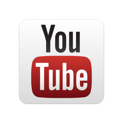 New YouTube button logo vector logo