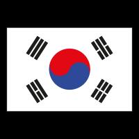 Flag of South Korea vector