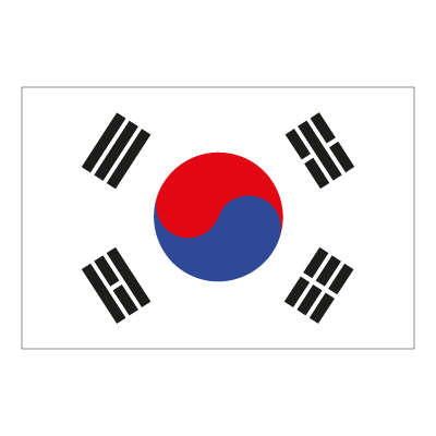 Flag of South Korea vector logo