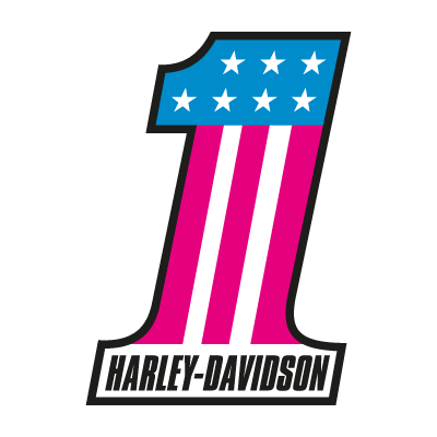 Harley-Davidson 1 logo vector logo
