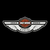 Harley Davidson 100 logo