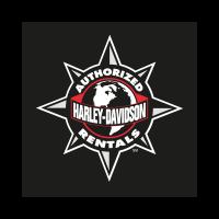 Harley Davidson Authorized Rentals logo