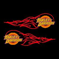 Harley-Davidson flame logo