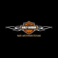 Harley-Davidson with Flames logo