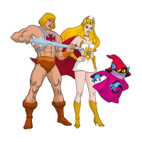 He-Man & She-Ra vector