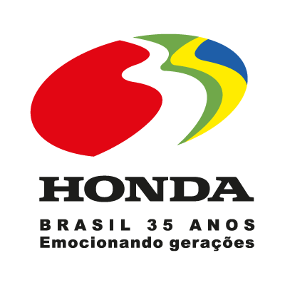 Honda 35 anos logo vector logo