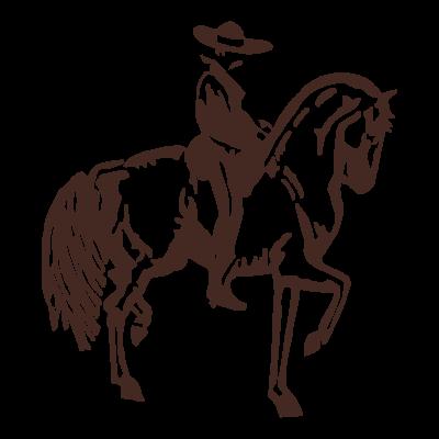 Horse Design logo vector logo