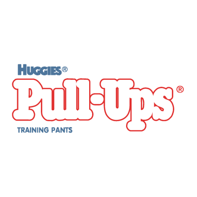 Huggies Pull-Ups logo vector (.EPS, 393.06 Kb) download