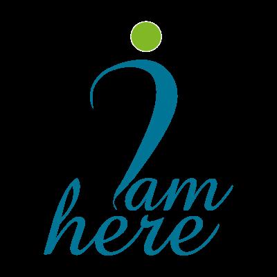 I am Here logo vector logo