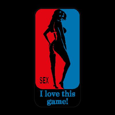 I Love This Game! logo vector logo