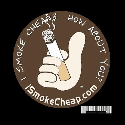 I Smoke Cheap logo vector logo