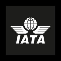 IATA black logo