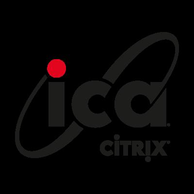 ICA Citrix logo vector logo