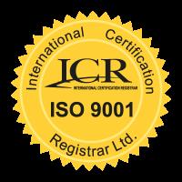 ICR ISO9001 logo