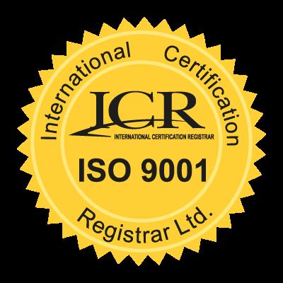 ICR ISO9001 logo vector logo