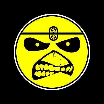 Iron Maiden Eddie Smile vector logo